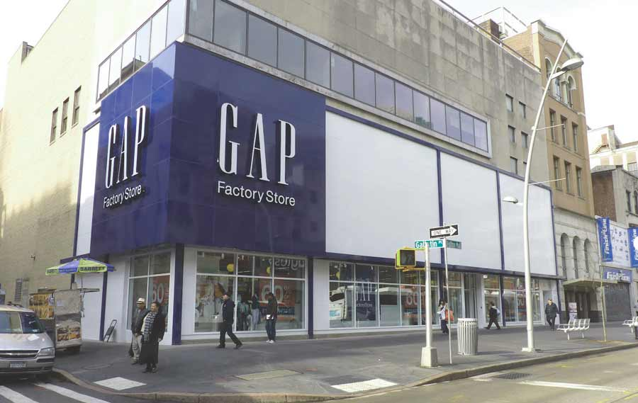 new york Gap outlet